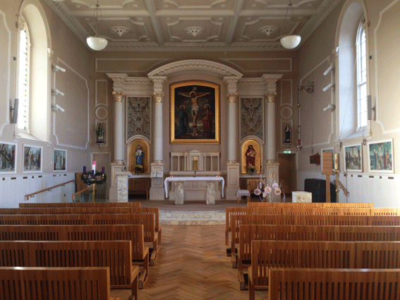Aisle-Shot-St-Peter's-Little-Bray